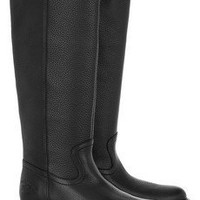 Gucci | Grained-leather knee boots | NET-A-PORTER.COM