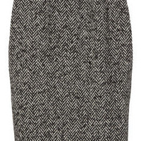 D&G | Wool-blend tweed pencil skirt | NET-A-PORTER.COM