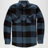 STRAIGHT FADED Jack Mens Flannel Shirt 244676200 | Flannels