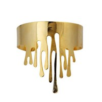 Golden Drip Cuff by Eina