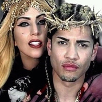 Jesus Thorn Crown as seen in Lady Gaga&#x27;s Judas video and Vogue Hommes Japan F 2011