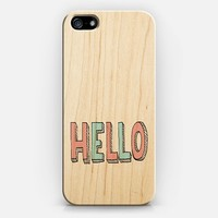 HELLO iPhone 5 case by Ally Coxon | Casetify