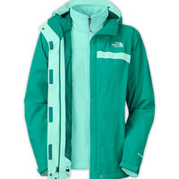 The North Face Women's Jackets & Vests 3-IN-1 JACKETS WOMEN'S GLACIER TRICLIMATE JACKET