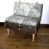 4 Map-Print Chairs | Apartment Therapy New York