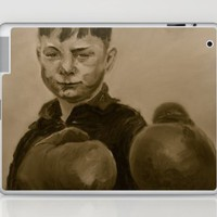 fight! (sepia edition) Laptop & iPad Skin by karien deroo | Society6