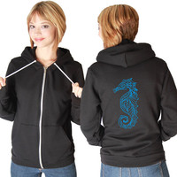 Seahorse American Apparel Hoodie