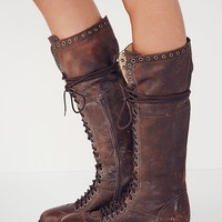 Free People Caspian Tall Lace Up Boot