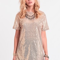 Moon Beam Sequin Dress