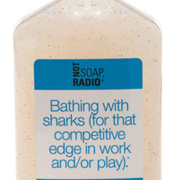 Bathing with sharks - Not Soap Radio