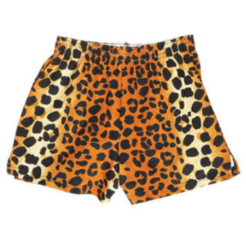 Printed Soffe Shorts - Leopard