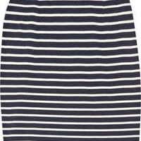 Chinti and Parker | Striped organic cotton skirt | NET-A-PORTER.COM