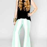Beach Club Print Roberts Party Pants by Show Me Your Mumu