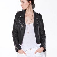 LEATHER JACKET - Jackets - TRF - ZARA United States
