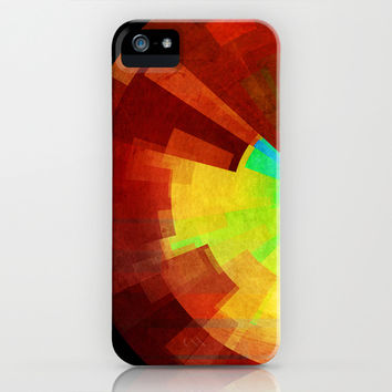 Time iPhone & iPod Case by SensualPatterns