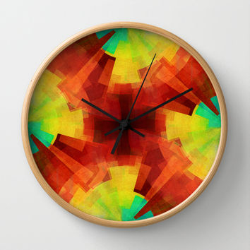 Time Wall Clock by SensualPatterns