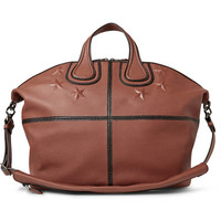 Givenchy - Nightingale Star-Embossed Textured-Leather Holdall | MR PORTER
