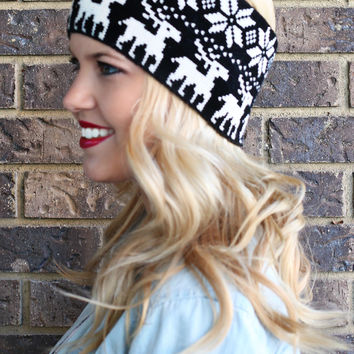 Prancer and Vixen Headwrap - ONE SIZE FITS MOST /