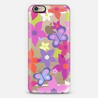happy flowers iPhone 6 case by Julia Grifol. Surface and textile designer.   Casetify