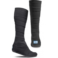 Black Vegan Wrap Boots