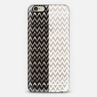 black and white halfs iPhone 6 case by Marianna Tankelevich | Casetify
