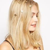 Pack of 5 Mini Stars Hair Grips