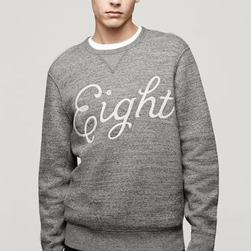 Rag & Bone - Graphic Sweatshirt, Grey Heather