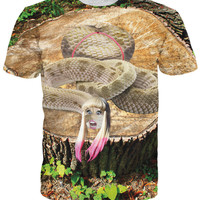 Let's Rage Minaj-a-conda T-Shirt exclusively from RageOn!