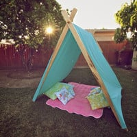 Tranquility Tent // Outdoor &amp; Indoor Play, Reading, Meditation, Anything Space