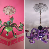 Stylish Interiors With Octopus Chandeliers By Adam Wallacavage — StyleFrizz