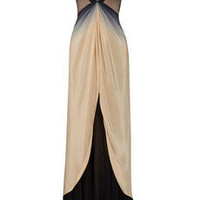 Zac Posen|Ombr silk gown|NET-A-PORTER.COM