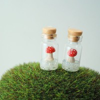 Floating Toadstool Mushrooms by DIVINEsweetness on Etsy