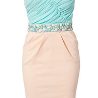 Bandeau Waist Trim Dress, Elise Ryan
