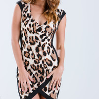 Piped Dream Leopard Dress