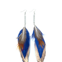 Feather Tipped Earrings