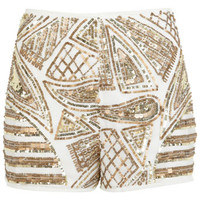 Baroque embellished short - View All - New In