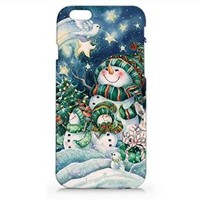 Iphone Case, Iphone 6 case, Snowman Christmas Hard Cover Case For Apple Iphone