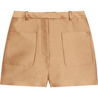 3.1 Phillip Lim | Pocketed satin-twill shorts | NET-A-PORTER.COM