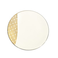 ARABESQUE DESSERT PLATE GOLD | Luxury Jewelry & Tableware | Merdinger House of Design