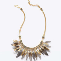 Perfect Plume Statement Necklace