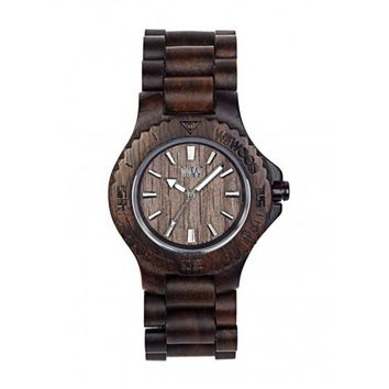 WeWood Date Chocolate Wood Watch
