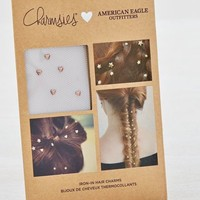 AEO Women's Rose Gold Star Hair Charms (Rose Gold)