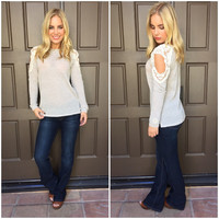 Open to Love Knit Sweater Top