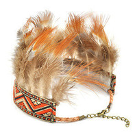 REGAL ROSE | Fashion Rock Vintage Love Studs Glamour ? Padma. Feather Armlet
