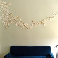 DIY Idea: High-Impact, Low-Cost Wall Art!  Curbly | DIY Design Community  Keywords: thrift, DIY, Craft, art