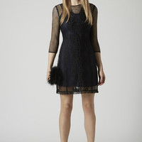 Online Exclusive Net Shift Dress