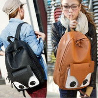 Vintage Girl Cute Naughty Little Fox Bag Backpack Bag Schoolbag Travel Student