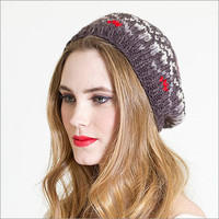Norway Snow Beret Grey