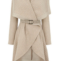 Shop | Naturals Textured Drape Coat  | Oasis Stores Limited