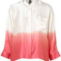 Premium Ombre Silk Shirt - Tops  - Apparel