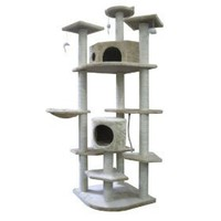 "80"" Cat Tree Condo Furniture Scratch Post Pet House"